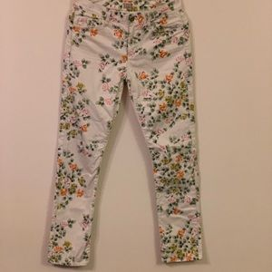"""Citizens of Humanity """" Mandy """" floral jeans"""
